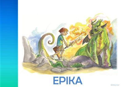 Vježbe iz književnosti 2 (EPIKA)